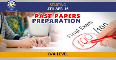 Past Papers Preparation