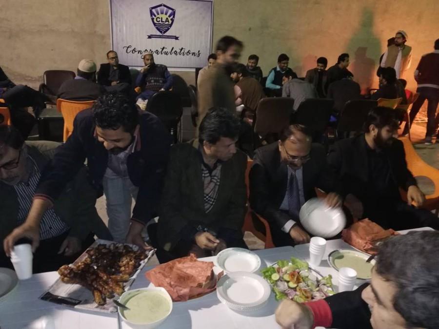 CLA Dinner 2018